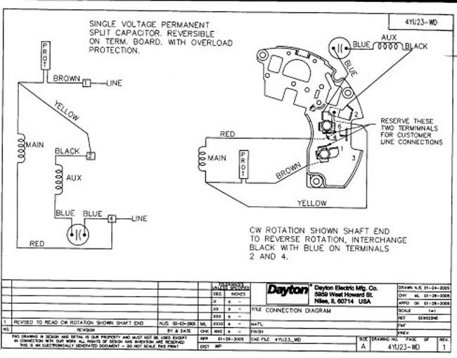 dayton direct drive blower motor wiring diagram: 1/6 hp direct drive blower  motor