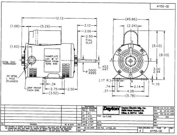 Ge Motor Wiring Diagram 115 230 Com