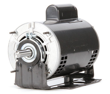 3/4 hp Belt Drive Blower Cap Start Motor 1725 RPM 115/208-230V Dayton 4YU35