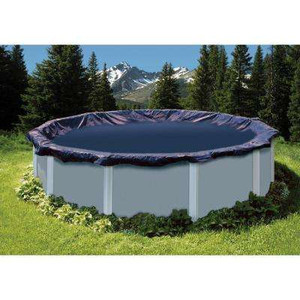 SWIMLINE 28' Diameter Winter Above Ground Swimming Pool Cover 8 Year Limited Warranty S28RD