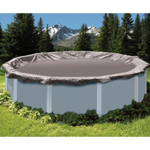 SWIMLINE SUPER DELUXE 28' Diameter Winter Above Ground Swimming Pool Cover 15 Year Limited Warranty SD28RD