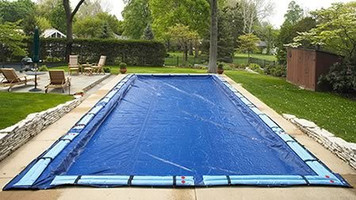 SWIMLINE SUPER DELUXE 25' x 40' Rectangle Winter Inground Swimming Pool Cover 15 Year Limited Warranty SD2540RC