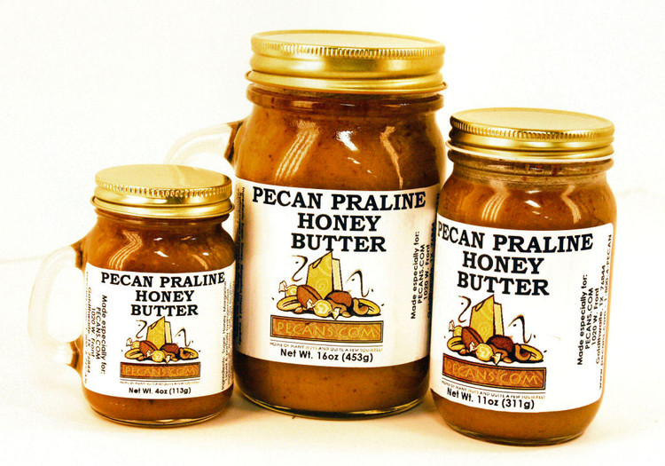 Pecan Praline Honey Butter