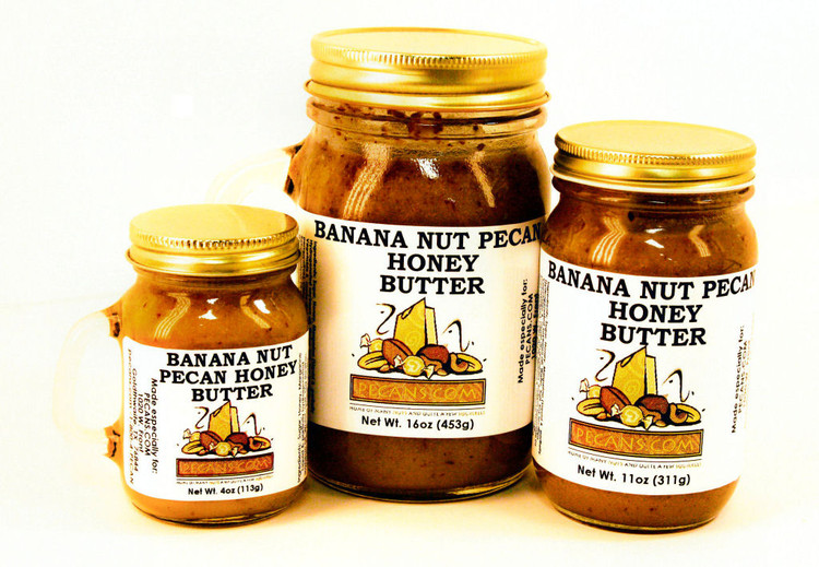 Banana Nut Pecan Honey Butter