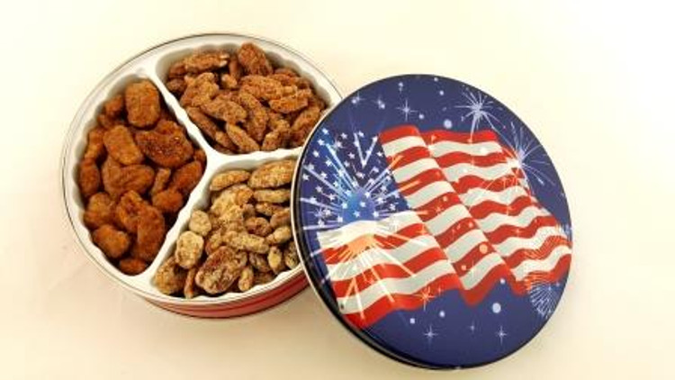 Sweet American Flag Tin