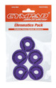 CYMPAD Chromatics Set 40/15mm PURPLE (5-pieces) Crash