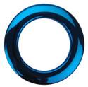 """Bass Drum O's - 2"""" Blue Chrome Drum O's/Tom Ports (2 Pack)"""