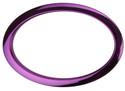"Bass Drum O's - 6"" Purple Oval"
