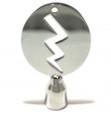 Lightning Bolt Drum Key, Stainless Steel