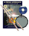 Vic Firth Fresh Approach Starter Pack (includes SD1, practice pad and