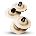 ZILDJIAN DANCERS ZILS (SET OF TWO PAIR)