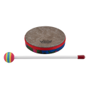 "Remo Drum, KIDS PERCUSSION¨, Hand Drum, 6"" Diameter, 1.25"" Depth, Fabric Rain Forest"