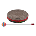"Remo Drum, KIDS PERCUSSION¨, Hand Drum, 8"" Diameter, 1.25"" Depth, Fabric Rain Forest"
