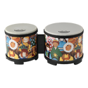 "Remo RHYTHM CLUB¨, Bongos, 5""/6"" Diameters, Rhythm Kids Graphics"
