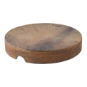 """REMO Tar, Frame Drum, SKYNDEEP¨ Fixed Goat Brown Graphic, 18"""" x 3"""""""