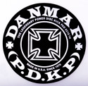 DANMAR BASS DRUM IMPACT PAD- Iron Cross