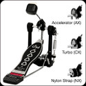 DW 6000 SINGLE PEDAL, ACCELERATOR