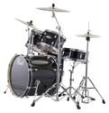 "Pearl Export Series 5-piece set EXX725/C31 (12""x8""T, 13""x9""T, 16""x16""F, 22""x18""BD, 14""x5.5""SD), w/ HWP830 (Cymbals Sold Separately)"