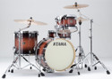 "Tama Superstar Classic 4pc 18""BD shell kit 14x18, 8x12, 14x14, 5x14 with single tom holder in Mahogany Burst"