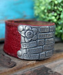 Life Is Not Waiting For The Storm To Pass Leather Cuff