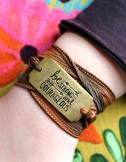 Be Strong Wrap Bracelet