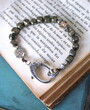 Pyrite Cube Boho Bracelet