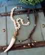White Tusk Necklace Bella
