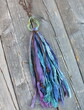 Recycled Sari Silk Bohemian Necklace