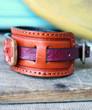 Lone Star Leather Cuff