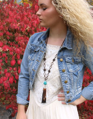 Santa Fe Tassel Necklace