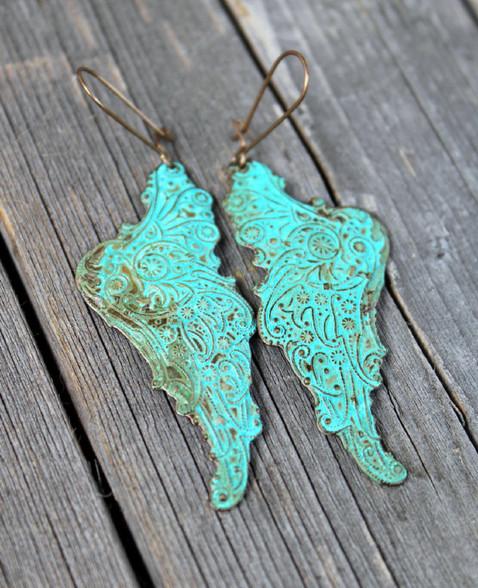 Butterfly Wing Earrings