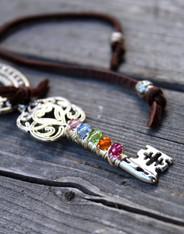 Chakra Key Necklace