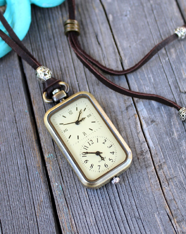 Long Distance Relationship Double Watch Necklace - Ever ...