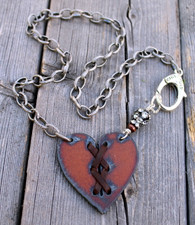 Cross My Heart Bohemian Necklace