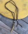 Brass Tusk Boho Necklace