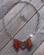 Forever In My Heart Paw Print Necklace
