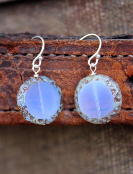 Raindrop Earrings - Lavender