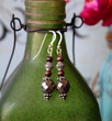Pyrite Boho Earrings