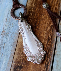 Spoon Handle Boho Chic Necklace