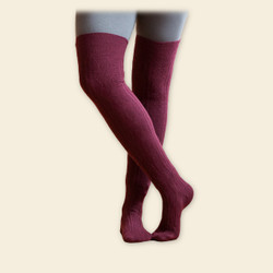 Organic Wool Over- the-Knee Sock
