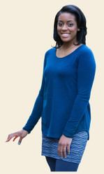 Organic Cotton Raglan Tunic