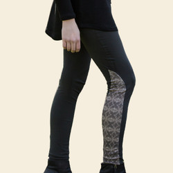 Organic Cotton Panel Leggings