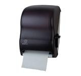 "8"" Hardwound Roll Towel Dispenser Black"