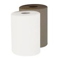 "8"" Jumbo Roll Towel - White - 6 Rolls Per Case"