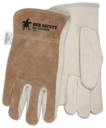 Drivers Glove, Premium Grain Palm & Split Back, Keystone Thumb, DuPont™ Kevlar® Sewn