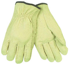 Drivers Glove, Unlined Industry Grain Pigskin, Straight Thumb