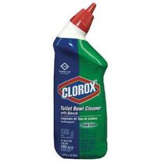 Clorox Toilet Bowl Cleaner, Gel, Scent: Rain Clean, 24 oz, 12 Bottles Per Case