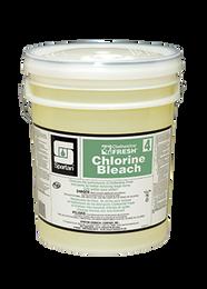 Spartan Clothesline Fresh Chlorine Bleach #4, 5 Gallons Per Pail