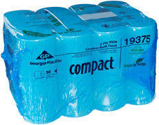GP Compact Coreless Toilet Tissue, 36 Rolls Per Case
