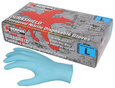NitriShield, 4 mil Nitrile Industrial/Food Service Grade, Textured Grip, Powder Free